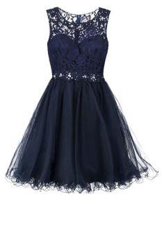 Sukienka koktajlowa - stormy blue