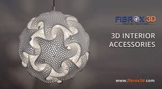 Now You can Make Any Kind Interior Hanging Accessories for Your Sweet Home through 3D Printing Technology!