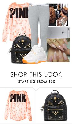 """Untitled #1130"" by chynaloggins ❤ liked on Polyvore featuring MCM, Calvin Klein and Retrò"