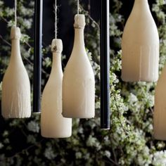 A light sculpture celebrating the translucent beauty of beeswax for Vue De Monde & Dom Pérignon in Taper Candles, Beeswax Candles, Candle Making Business, Dom Perignon, Dinosaur Design, Natural Honey, Queen B, Mason Jar Lamp, Light Up