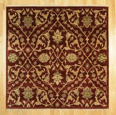 5'11 X 6' Traditional Hand Knotted Rug
