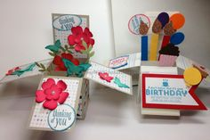 Stamp With Cynthia: Card-In-A-Box - the Video