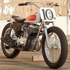 vintagehack:  Modded BSA… cool!