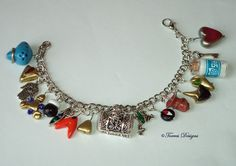 Ocarina of Time Charm Bracelet Legend of Zelda by TorresDesigns, $76.99