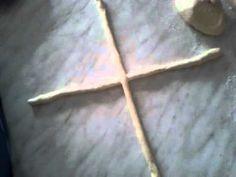 Pletení housek křížová technika