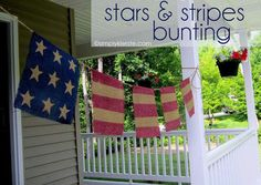Burlap Banner, Can't wait to make this!