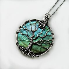 wire wrap tree