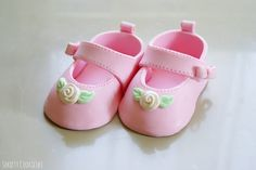 Sekrety Cookietki: Cukrowe buciki dla małej dziewczynki