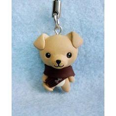 Winter Puppy keychain & mobile accessories, llaveros , colgantes de movil, animal,invierno,perro,cachorro,dog,xmas,navidad,