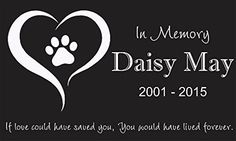 Personalized Pet Stone Memorial Marker Granite Marker Dog Cat Horse Bird Human 6 X 10 Personalised Beagle Basset Hound -- Details can be found by clicking on the image.