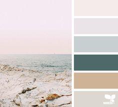 The Sea Archives Create Color Palette, Colour Pallette, Colour Schemes, Color Combos, Beach Color Palettes, Color Palette Challenge, Sea Colour, Color Collage, Color Balance