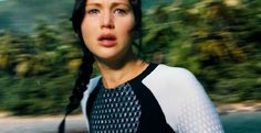 The tears in her eyes from watching Cinna die.  This trailer was perfection.