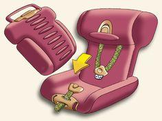 Multi functional child travel seat