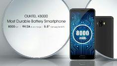 Oukitel K8000 - World's First Smartphone To Feature 8000mAh Battery http://ift.tt/2g0hCu8