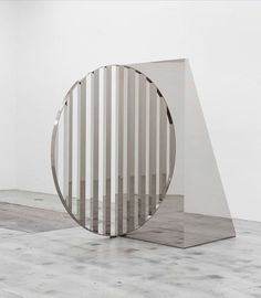 """Jeppe Hein on Instagram: """"Geometric Mirrors is a series of mirror angles, each comprised of two mirror surfaces intersecting at a 90° angle. While a perpendicular…"""""""