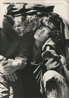BRUCE WEBER   COMME DES GARCONS   1980