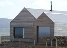 Borreraig House on a Scottish island by Dualchas Architects.