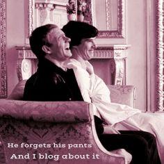 Sherlock and Jon  #madewithstudio