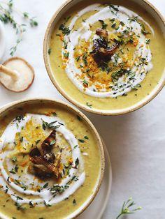 Golden Mushroom Soup (vegan + gf) Homegrown Provisions