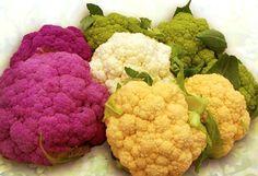colorful cauliflower