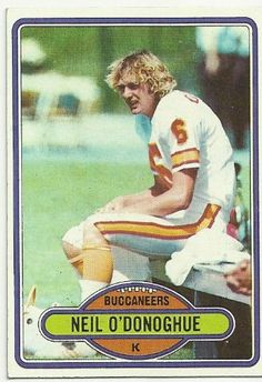1980 Topps Neil O'Donoghue (Tampa Bay Buccaneers) Football Trading Card 346 -- Be sure to check out this awesome product.