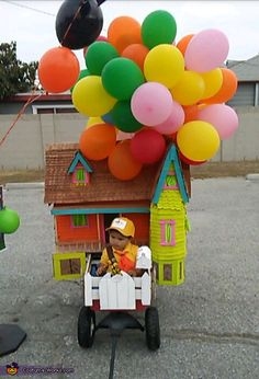 Russel From UP - 2016 Halloween Costume Contest Mary Poppins Halloween Costume, Baby Halloween Costumes For Boys, Last Minute Halloween Costumes, Halloween Costume Contest, Baby Costumes, Halloween Inspo, 1st Boy Birthday, First Birthday Parties, Costume Works