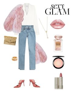 """""""Untitled #545"""" by fanfan-zheng ❤ liked on Polyvore featuring beauty, Florence Bridge, Vince, Vetements, Malone Souliers, Ilia, MAC Cosmetics, Giorgio Armani, Lime Crime and EF Collection"""