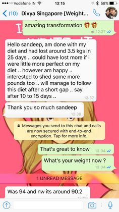 Losing weight is never easy, you need effective diet, best dietitian & motivational coach who will help you in achieving your goal. This time it's Divya Singh from Singapore who did it. She lost 3.5 kg in 25 days by following the Metabolism Diet. Even she didn't followed it completely but she managed to shed 3.5 kgs in a short span of time. Congratulation Divya for such an amazing result.   Call/ Whatsapp us @ +919953329177 for your healthy Diet plan.