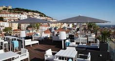 Rooftop and Top Floor Restaurant or Bar with a View in Lisbon and Across Portugal Lisbon Restaurant, Rooftop Restaurant, Tour Around The World, Around The Worlds, Lisbon Bars, Best Rooftop Bars, Portugal Travel, Portugal Trip, Dream Vacations