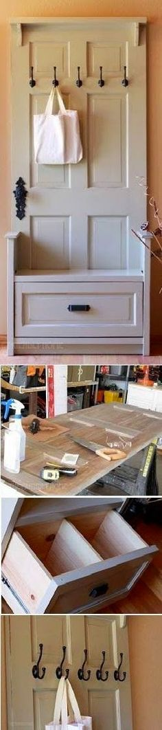 I FIND DIY: DIY Entry Bench