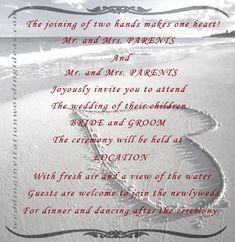 Funny beach wedding invitations 10 examples of beach wedding beach wedding invitations beach wedding invitation wording creative wedding invitation filmwisefo