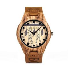 Wood casual watches for men