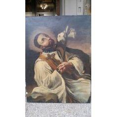 Dipinto olio su tela - S. Luigi - '600