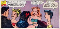 He hates girls!   He hates girls! comic books comics out of context