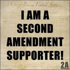 The 2nd Amendment... Our last line of defense of our freedom...