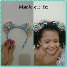 This post was discovered by Aline Tenorio Santos Tenorio. Discover (and save!) your own Posts on Unirazi. Ribbon Art, Ribbon Hair Bows, Diy Ribbon, Ribbon Crafts, Diy Headband, Baby Headbands, Flowers In Hair, Fabric Flowers, Disney Hair Bows