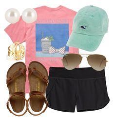 VV DAY by alexkay98 on Polyvore featuring Patagonia, Birkenstock, Henri Bendel, Jennifer Zeuner and Ray-Ban