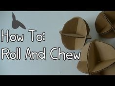 How To Make Homemade Rabbit Toy-The Roll And Chew - YouTube