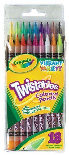 crayola twistables colored pencils set of 16 colors by crayola 599 non - Crayola Colored Pencils Twistables