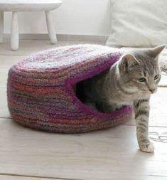 Domček pre mačky – NÁVODY NA HÁČKOVÁNÍ