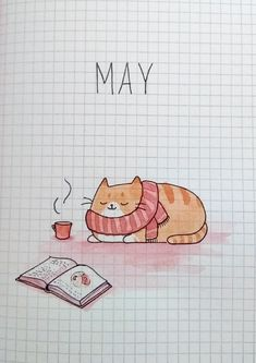 My bujo is mostly minimalistic but this month I decided to draw a cover!:bulletjournal