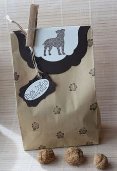 Hundekekse, Stampin Up, Verpackung, Thermomix