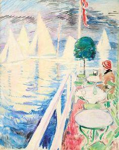 Dronningen - Arne Kavli Norwegian, Oil on canvas Oil On Canvas, Painting, Image, Art, Figurative, Paint, Draw