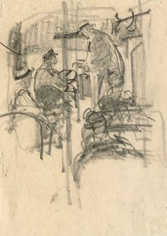 sketches by illustrator Saul Tepper