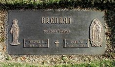 Walter Brennan (1894 - 1974) - Actor.  San Fernando Mission Cemetery 11160 Stranwood Ave Mission Hills Los Angeles County California  USA