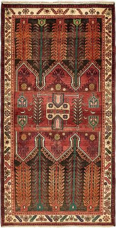 Black 8 x 2 Hamedan Persian Rug Persian Carpet, Persian Rug, Oriental Print, Oriental Rugs, Asian Rugs, Persian Culture, Magic Carpet, Patterned Carpet, Fabric Art