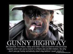 Marine 'Gunny' to receive Navy Cross for heroic acts. Marine Corps Humor, Us Marine Corps, Marine Mom, Military Jokes, Military Life, Military Guys, Army Humor, Military Signs, Marine Tattoo