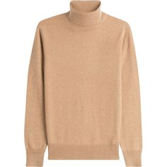 Joseph Cashmere Turtleneck (8 845 UAH) ❤ liked on Polyvore featuring tops, sweaters, camel, cashmere pullover, cashmere sweater, turtleneck pullover, pullover sweaters and turtle neck sweater