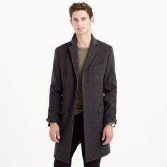 Ludlow topcoat in wool-cashmere : New Arrivals | J.Crew