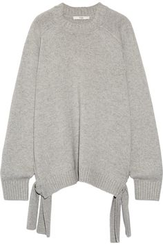 Light-gray cashmere  Slips on 100% cashmere Dry clean